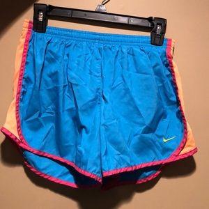 Blue Nike Dri-fit shorts